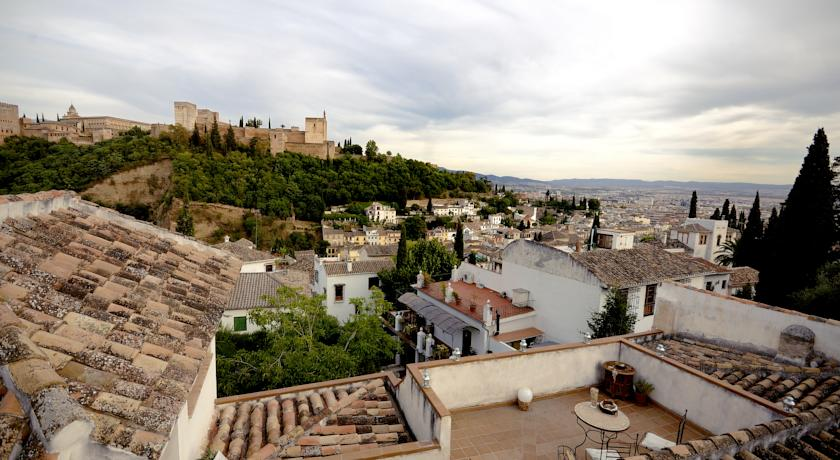 Superior Double Room with View to the Alhambra